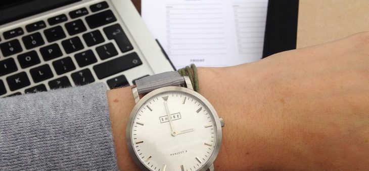 How to wear a big watch with elegant style and fashion statement